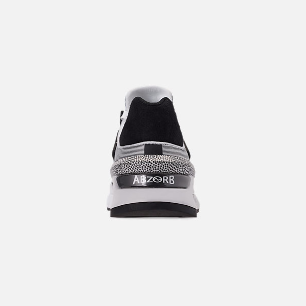 Back view of Women's New Balance 997 Sport Casual Shoes in White/Black