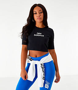 Women's New Balance Relentless Crop T-Shirt