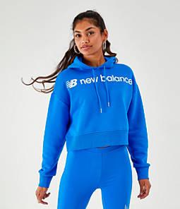 Women's New Balance Optiks Crop Hoodie