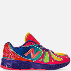 Girls' Little Kids' New Balance 890 Rainbow Running Shoes