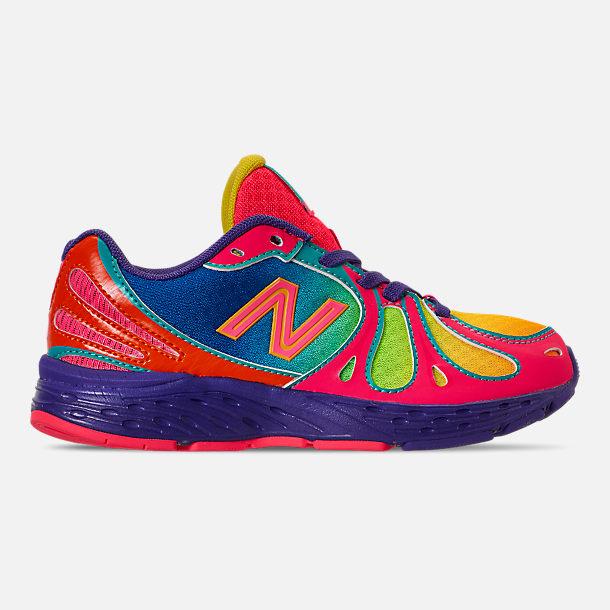 b57fbd6f10 Girls' Little Kids' New Balance 890 Rainbow Running Shoes