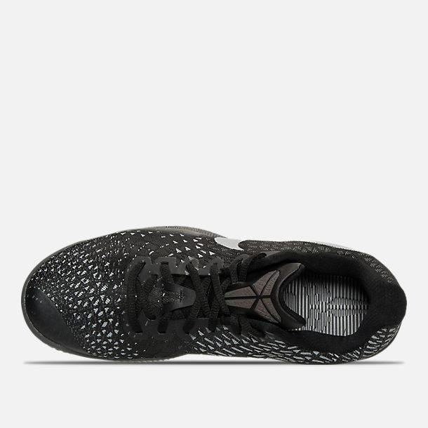 fc286ecf83b6 Top view of Men s Nike Kobe Mamba Instinct Basketball Shoes in Dark Grey  Anthracite