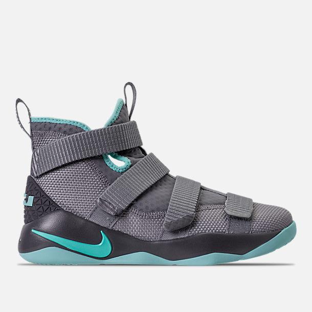 Nike Grey Black Basketball Shoes  Finish Line