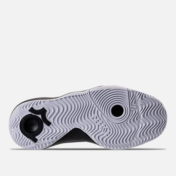 huge discount 05071 829d9 Bottom view of Boys  Grade School Nike KD Trey 5 V Basketball Shoes in Black