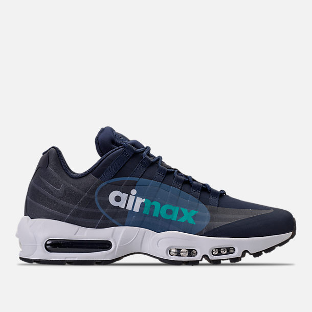 Right view of Men's Nike Air Max 95 NS GPX SP Casual Shoes in Obsidian/White/Slate