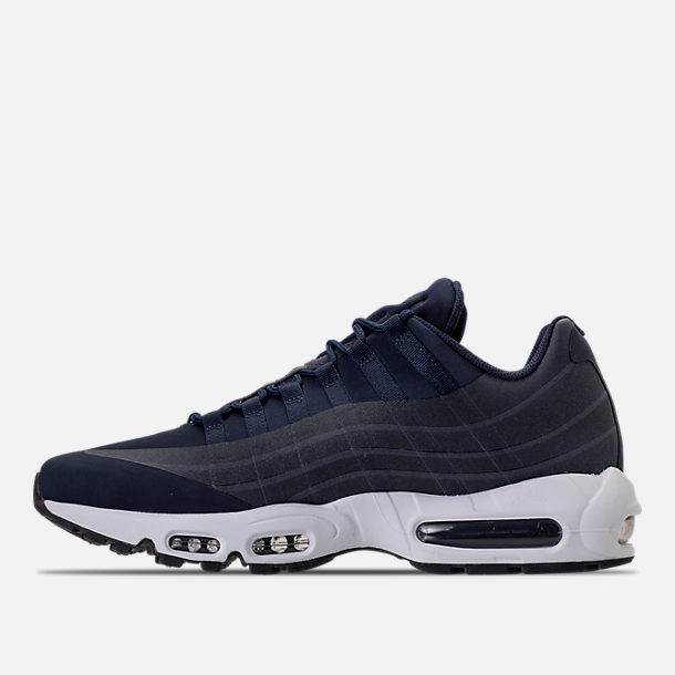 Left view of Men's Nike Air Max 95 NS GPX SP Casual Shoes in Obsidian/White/Slate