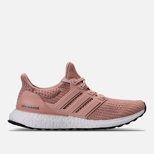 Right view of Women's adidas UltraBOOST 4.0 Running Shoes in Ash Pearl