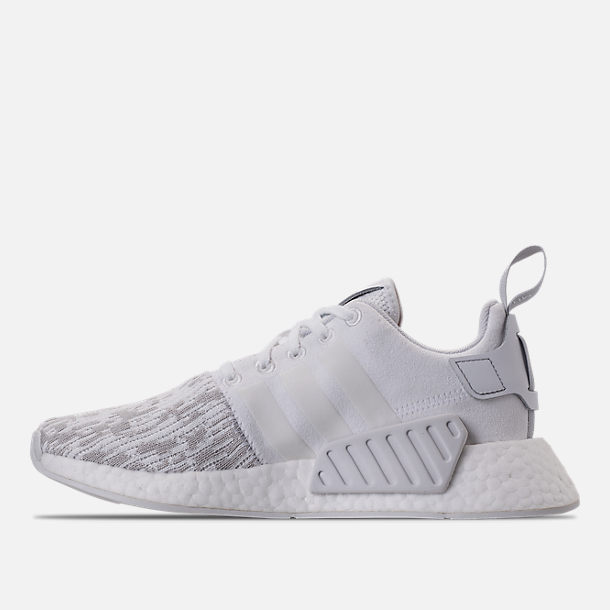 9c83d9dc6153 Left view of Women s adidas NMD R2 Casual Shoes in White Grey