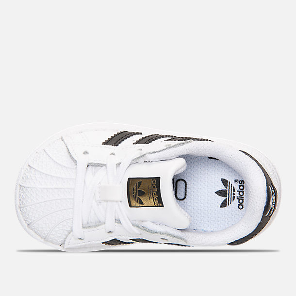 Cheap Adidas Originals Kids Superstar 2 Core (Infant/Toddler) SKU