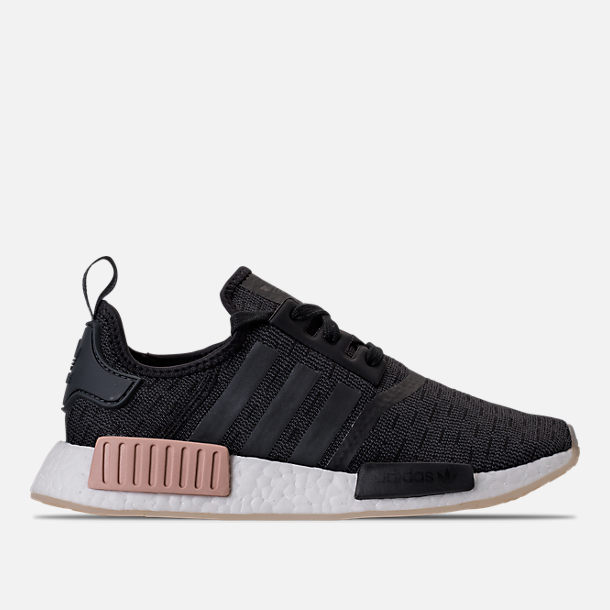 Right view of Women's adidas NMD R1 Casual Shoes in Core Black/Noble Indigo/White