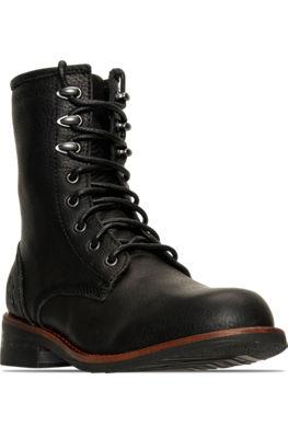 Femmes Nike Air Force 1 07 Formateur Chaussures Noir / Gomme