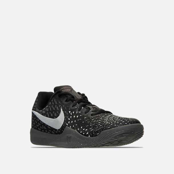 6cd08bb86276 Three Quarter view of Men s Nike Kobe Mamba Instinct Basketball Shoes in  Dark Grey Anthracite