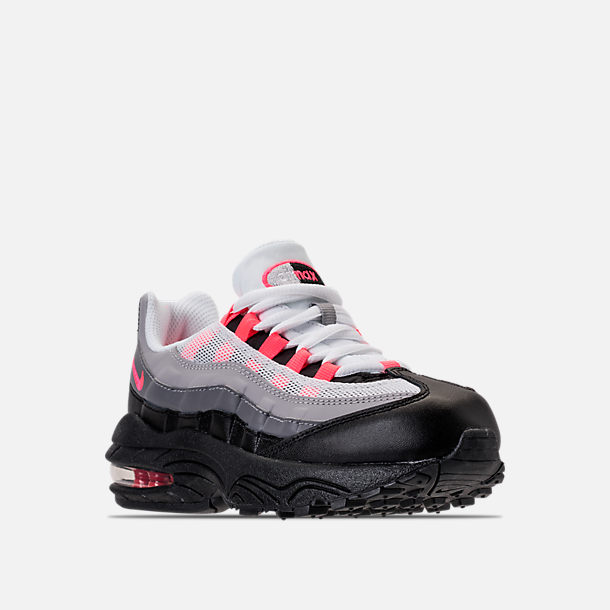 great fit 5e900 e796f ... factory outlet 03485 ea6f8 Three Quarter view of Girls Preschool Nike  Air Max 95 Casual Shoes ...