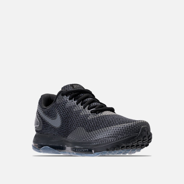 118b9a9ec901d Three Quarter view of Men s Nike Zoom All Out Low 2 Running Shoes in Black