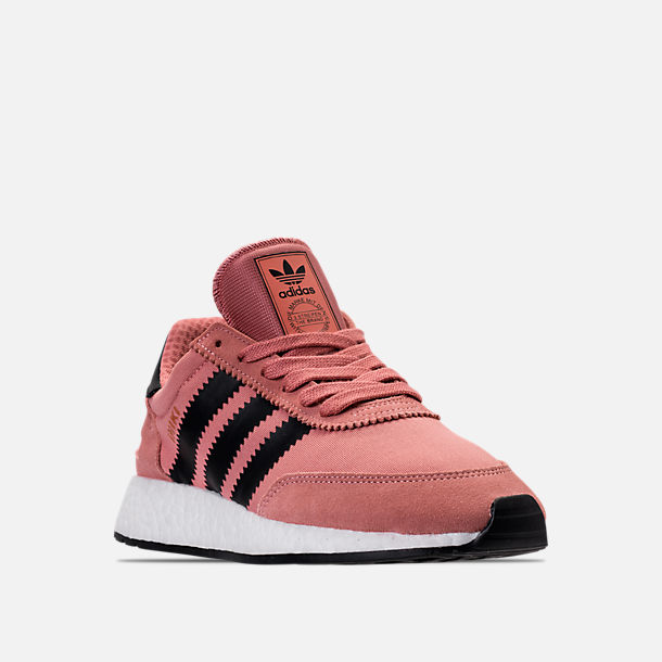 Three Quarter view of Women's adidas I-5923 Runner Casual Shoes