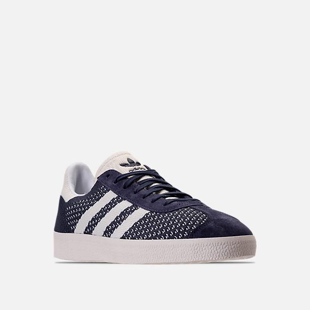 men 39 s adidas originals gazelle primeknit casual shoes finish line. Black Bedroom Furniture Sets. Home Design Ideas