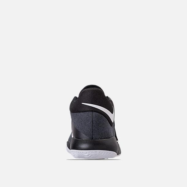 1224b8f10298 Back view of Boys  Grade School Nike KD Trey 5 V Basketball Shoes in Black