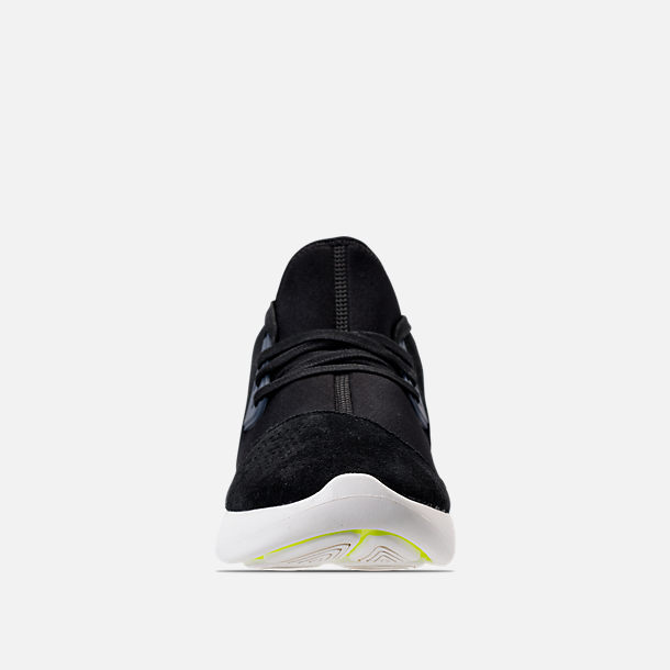 ... Front view of Womens Nike Lunar Charge Premium Casual Shoes in  BlackSailThunder ...