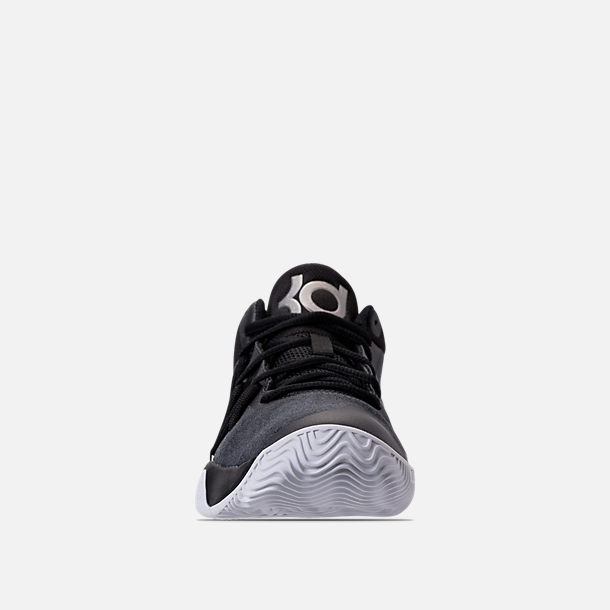b8aa6d4e4cb1 Front view of Boys  Grade School Nike KD Trey 5 V Basketball Shoes in Black