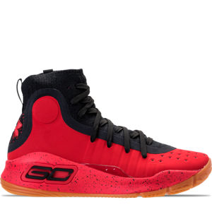 Boys' Grade School Under Armour Curry 4 Mid Basketball Shoes Product Image