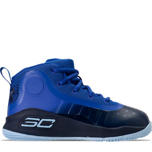 Boys' Toddler Under Armour Curry 4 Mid Basketball Shoes