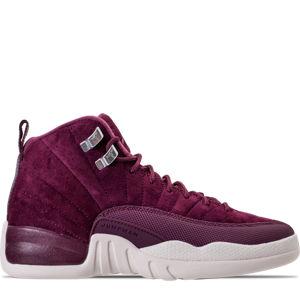 Boys' Grade School Air Jordan Retro 12 Basketball Shoes Product Image
