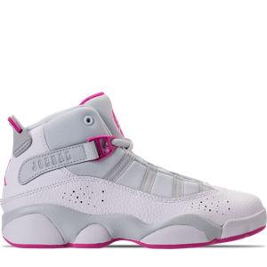 Girls' Preschool Air Jordan 6 Rings Basketball Shoes