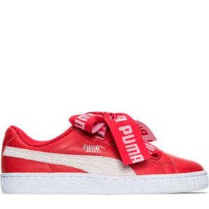 Women's Puma Basket Heart DE Casual Shoes Product Image