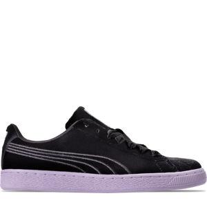 Women's Puma Basket Classic Velour Casual Shoes Product Image