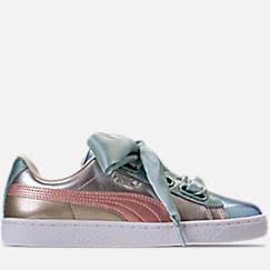 428bf3cae068 Women s Puma Basket Heart Bauble Casual Shoes