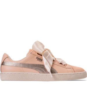 Women's Puma Basket Heart Up Casual Shoes