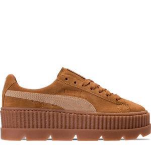 Women's Puma Fenty x Rihanna Suede Cleated Creeper Casual Shoes