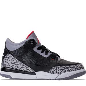Boys' Preschool Jordan Retro 3 Basketball Shoes Product Image