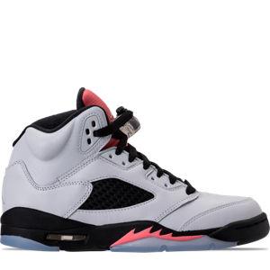 Girls' Grade School Air Jordan Retro 5 (3.5y-9.5y) Basketball Shoes Product Image