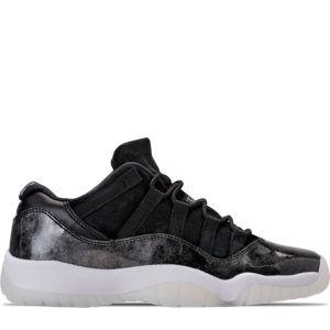 Boys' Grade School Air Jordan Retro 11 Low Basketball Shoes Product Image