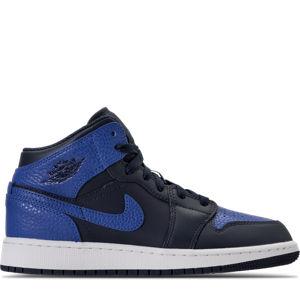 Kids' Grade School Air Jordan 1 Mid Basketball Shoes