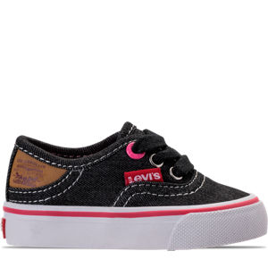 Girls' Toddler Levi's Monterey Denim Buck Casual Shoes Product Image