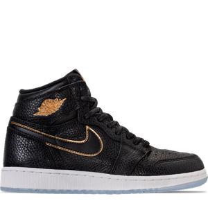 Boys' Grade School Air Jordan Retro 1 High OG Casual Shoes