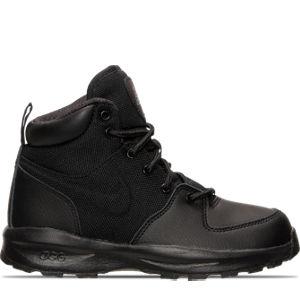 Boys' Preschool Nike Manoa Leather Textile Boots