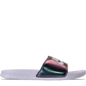 Women's Nike Benassi JDI Print Slide Sandals Product Image