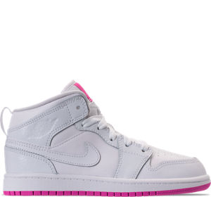Girls' Preschool Air Jordan 1 Mid Basketball Shoes