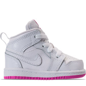 Girls' Toddler Jordan 1 Mid Basketball Shoes Product Image