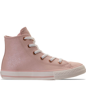 Girls' Preschool Converse Chuck Taylor High Top Leather Casual Shoes