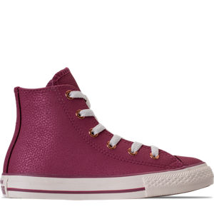 Girls' Grade School Converse Chuck Taylor High Top Leather Casual Shoes