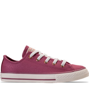 Girls' Preschool Converse Chuck Taylor Ox Leather Casual Shoes Product Image