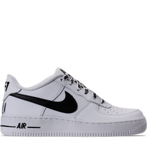 Boys' Grade School Nike NBA Air Force 1 Low LV8 Casual Shoes Product Image