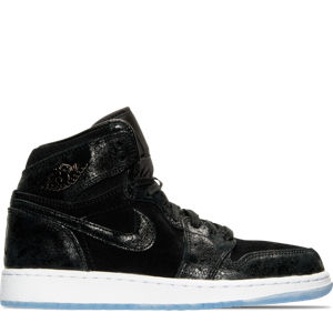 Girls' Grade School Air Jordan Retro 1 High Premium Heiress Collection (3.5y - 9.5y) Basketball Shoes