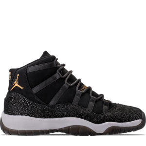 Girls' Grade School Air Jordan Retro 11 Premium Heiress Collection (3.5y - 9.5y) Basketball Shoes Product Image