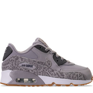 Girls' Preschool Nike Air Max 90 SE Leather Running Shoes Product Image