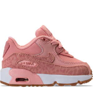 Girls' Toddler Nike Air Max 90 SE Leather Running Shoes